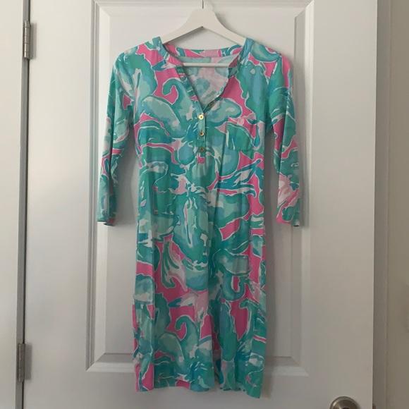 Lilly Pulitzer Alessia cotton dress. Size XS.